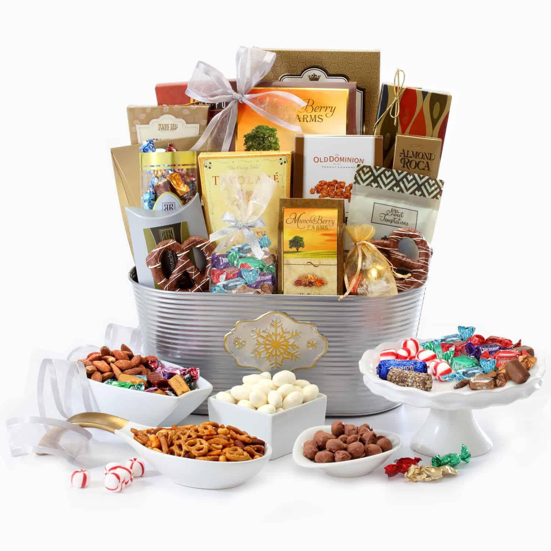 Winter Delight Gift Basket