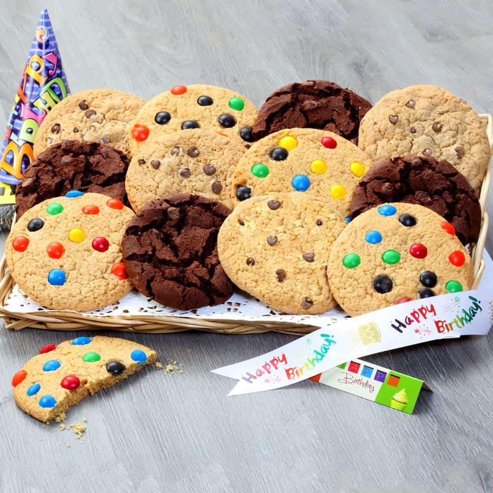 Jumbo Birthday Cookie Tray