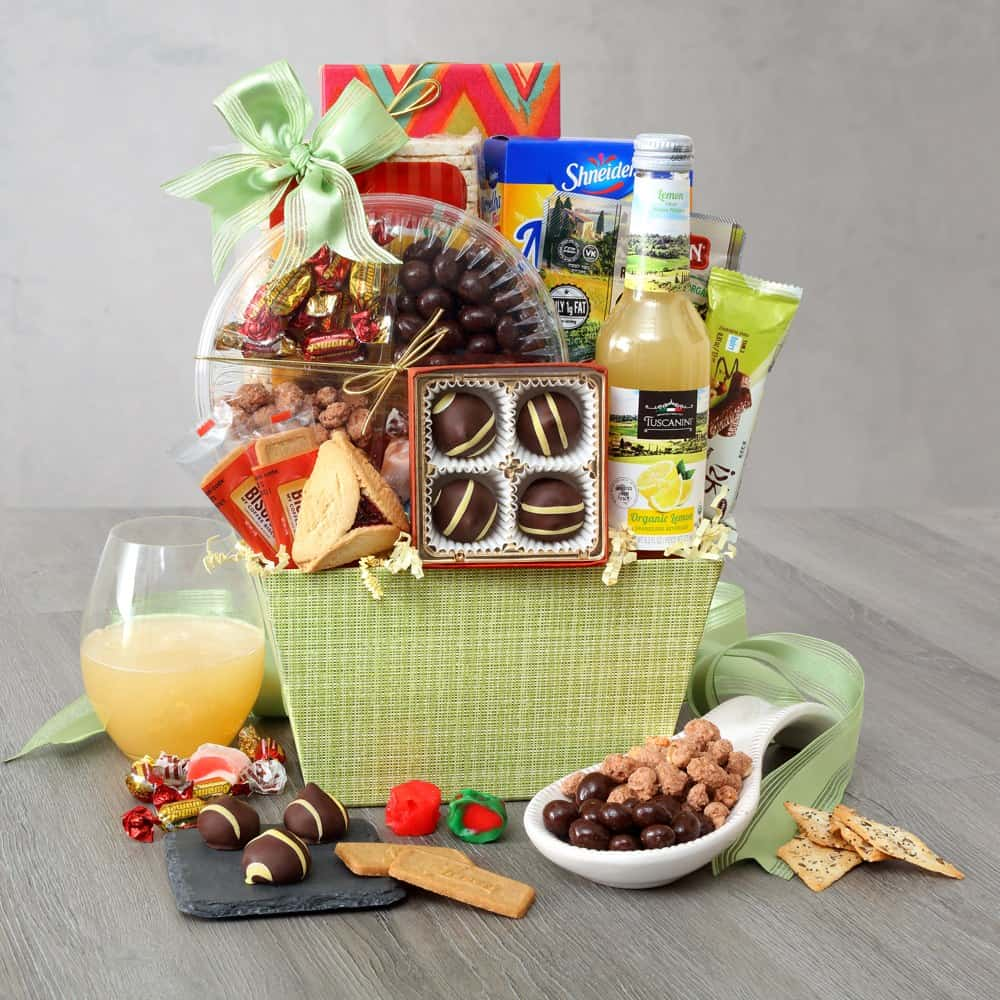 Hint of Mint Purim Basket