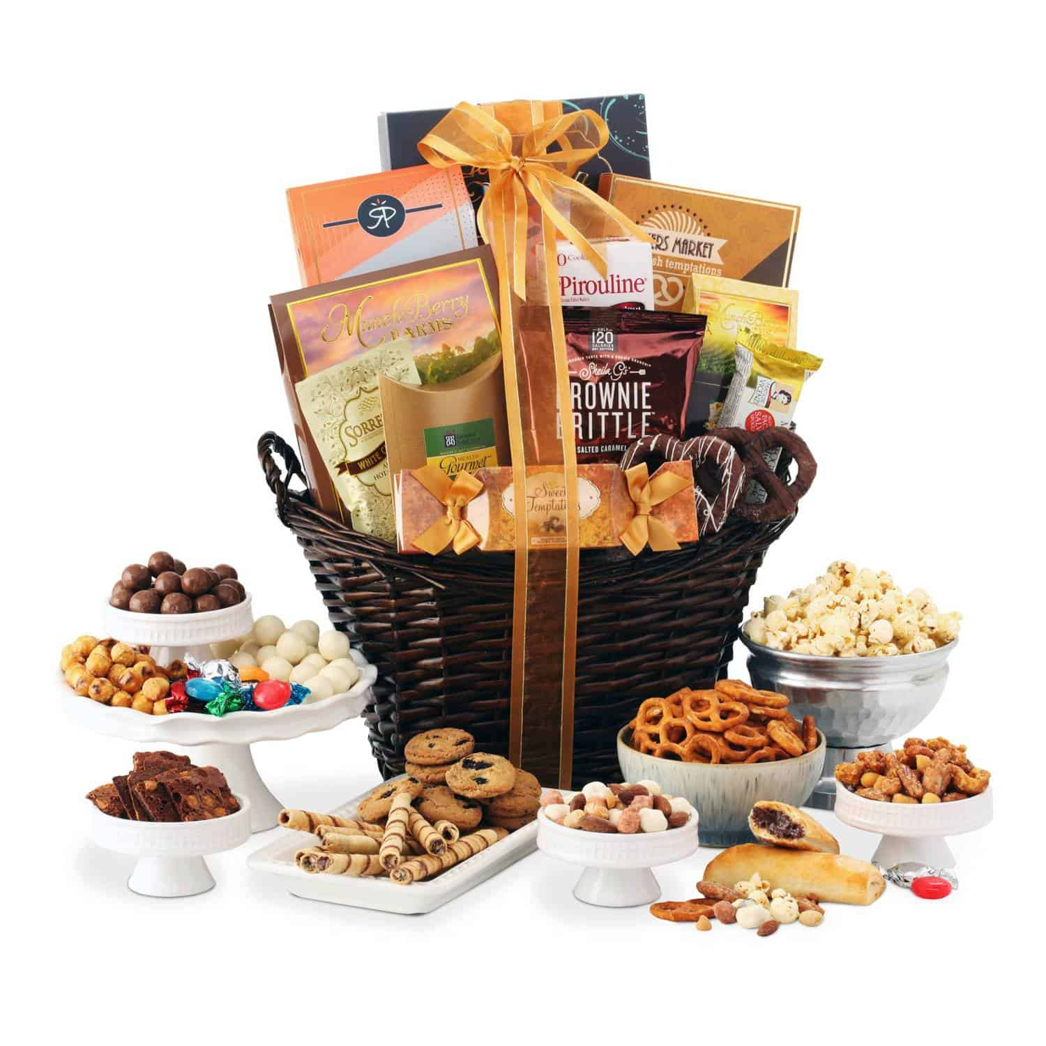 Grand Birthday Gift Basket By BroadwayBasketeers