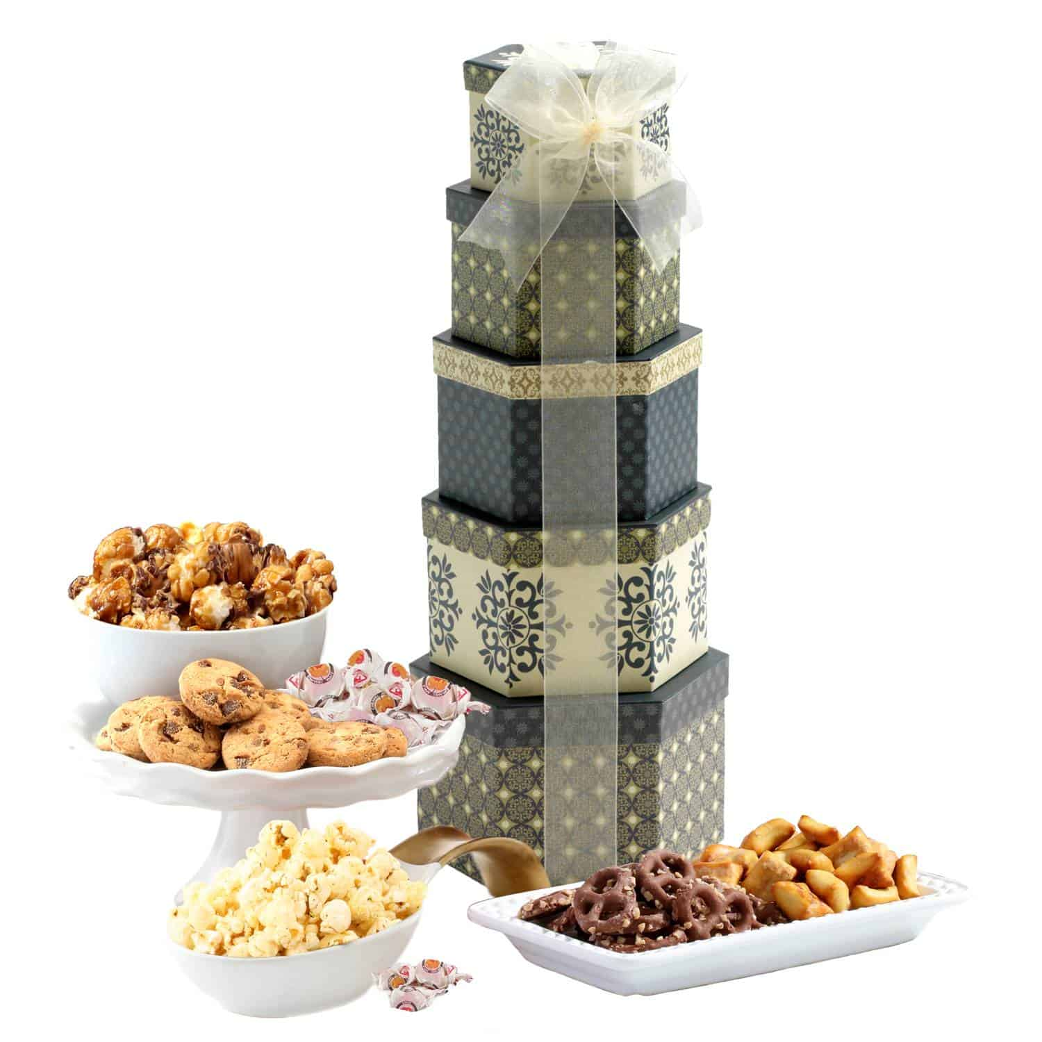 Snacks Sweets Birthday Tower