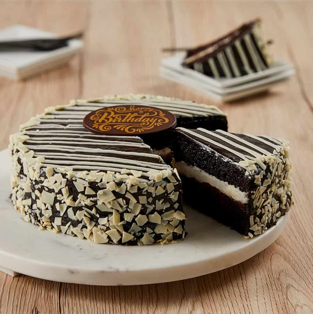 Birthday Chocolate Mousse Cake