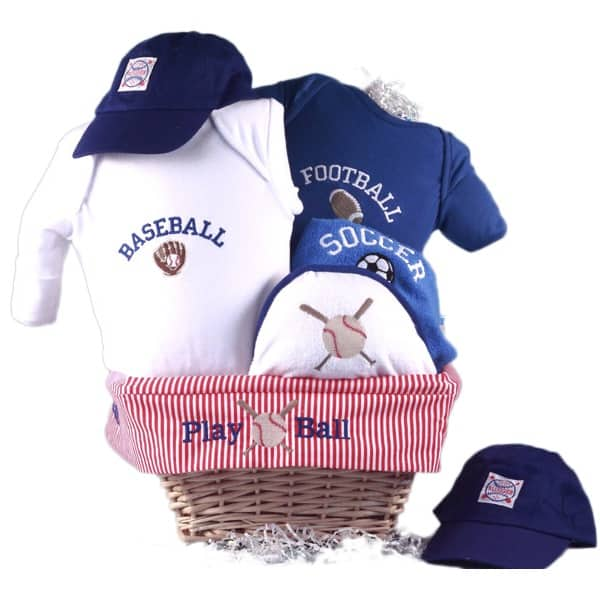 Baby Boy All Sports Gift Basket