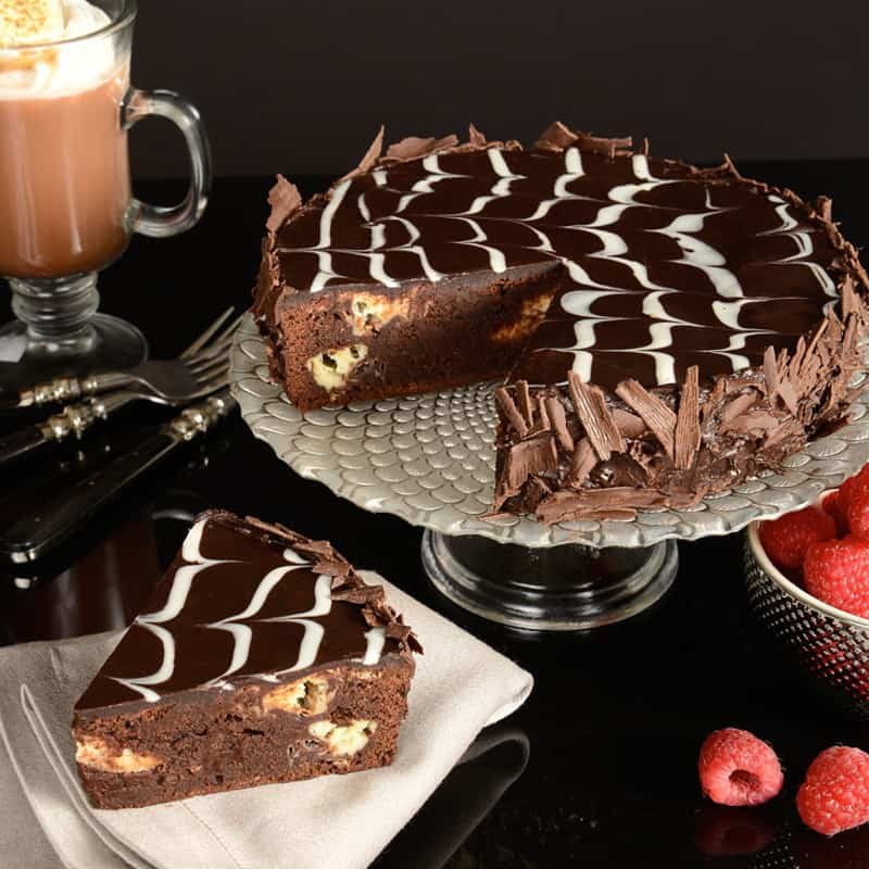 Gourmet Cake Delivery | Buy Marble Brownie Cake