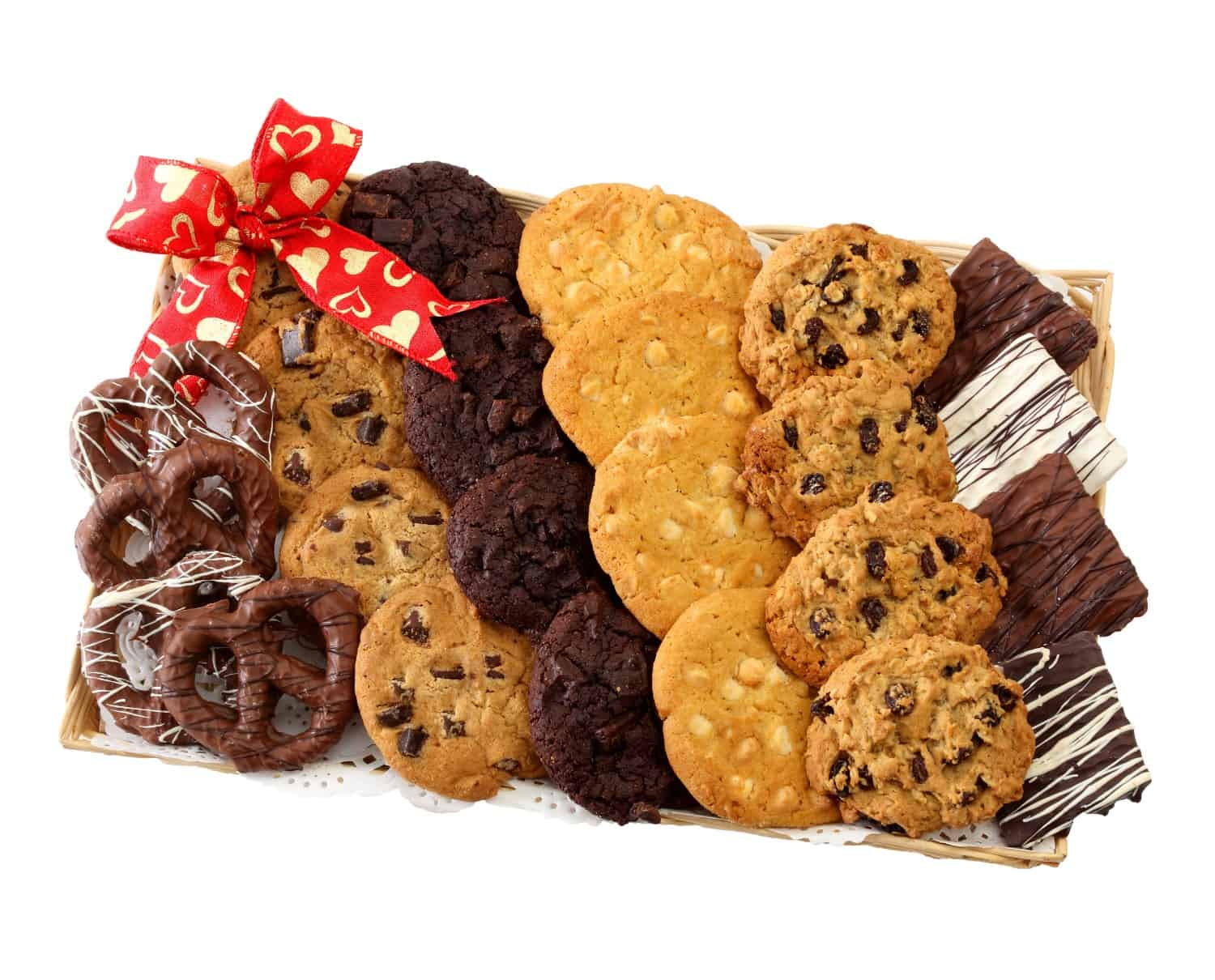 Gourmet Cookies & Chocolate Valentines Day Gift