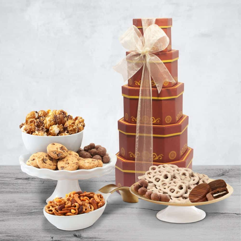 Gourmet Gift Tower of Sweets