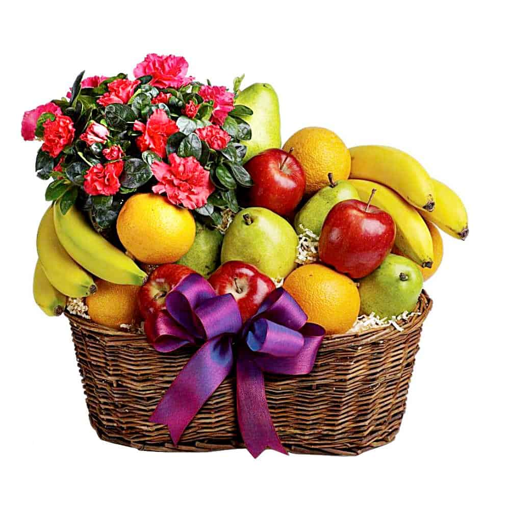 Fresh Fruit Baskets | Fruit and Flower Basket Delivery