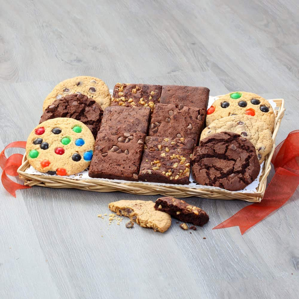 Cookie and Brownie Combo