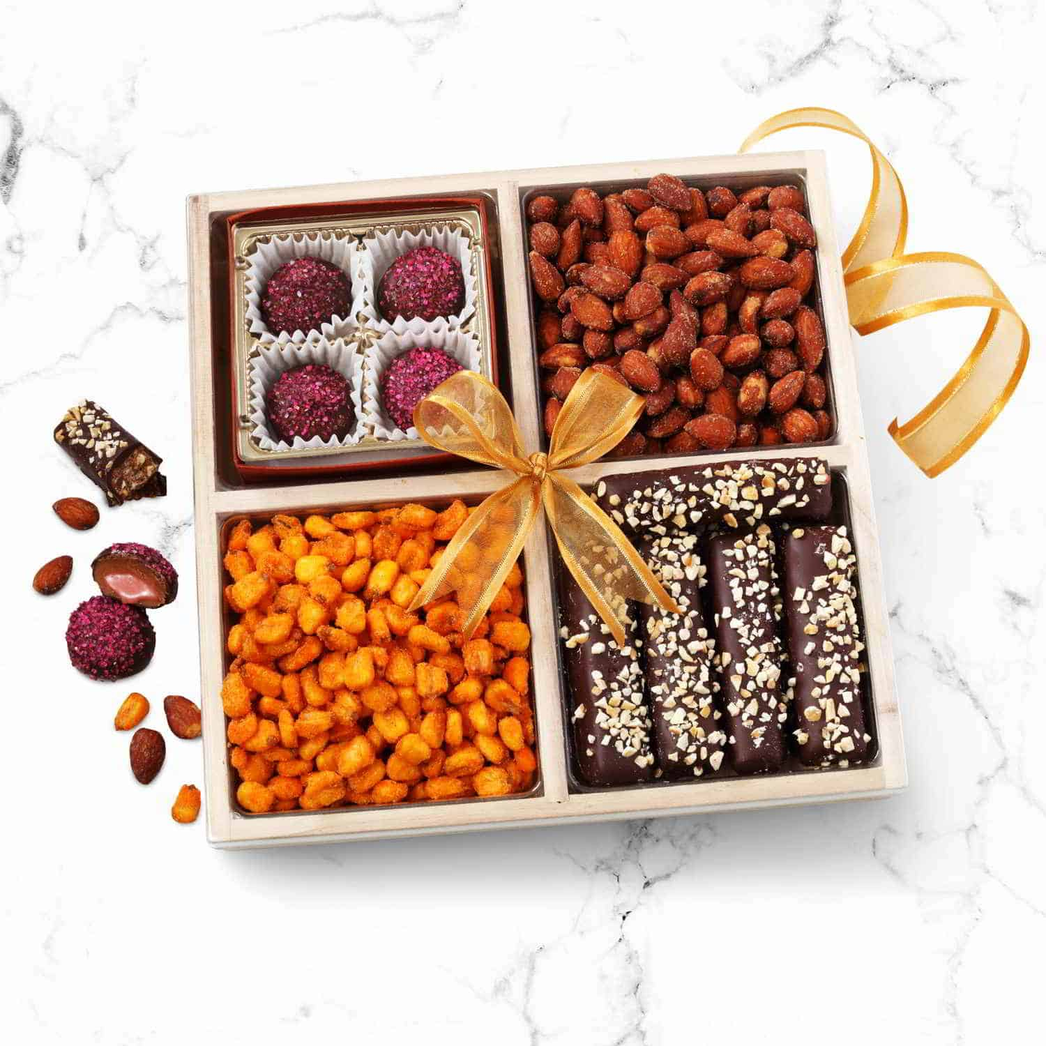 Chocolate & Nuts Purim Gift Tray