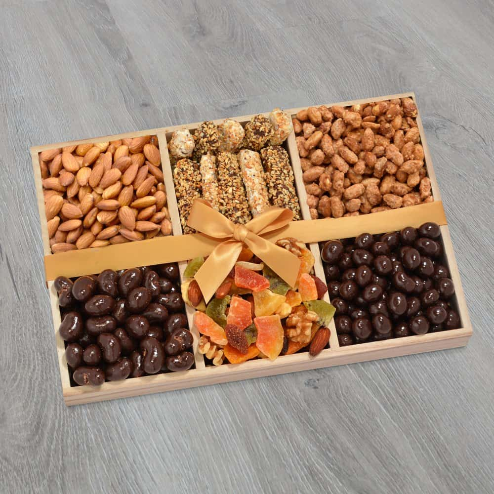 Chocolate & Nuts Dairy Free Gift Tray