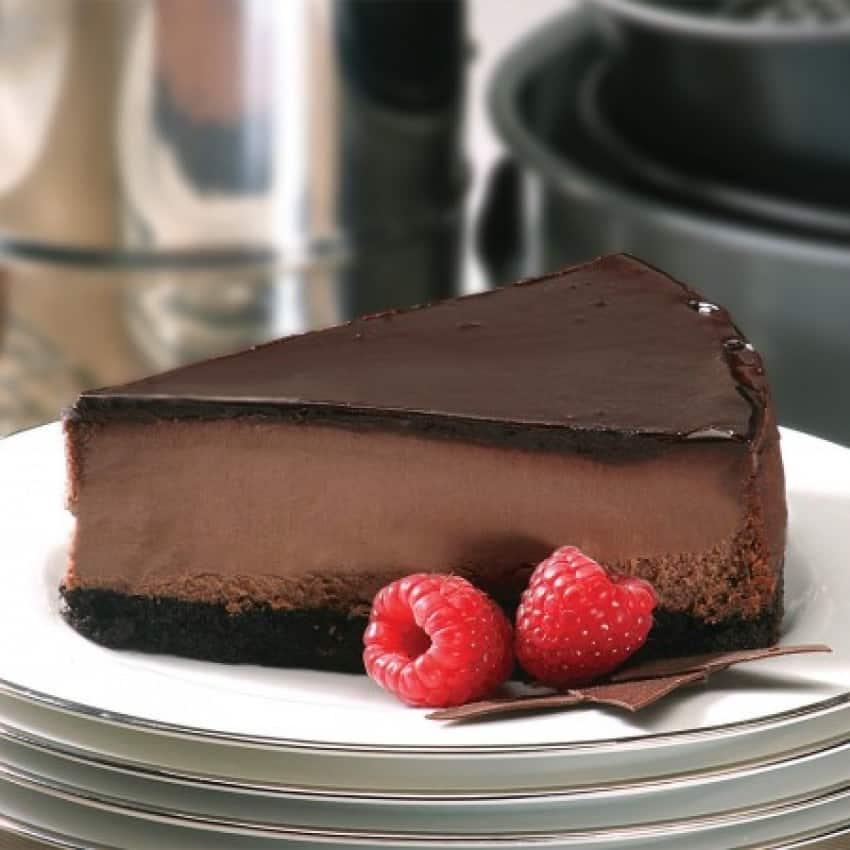 Triple Chocolate Cheesecake for Mom