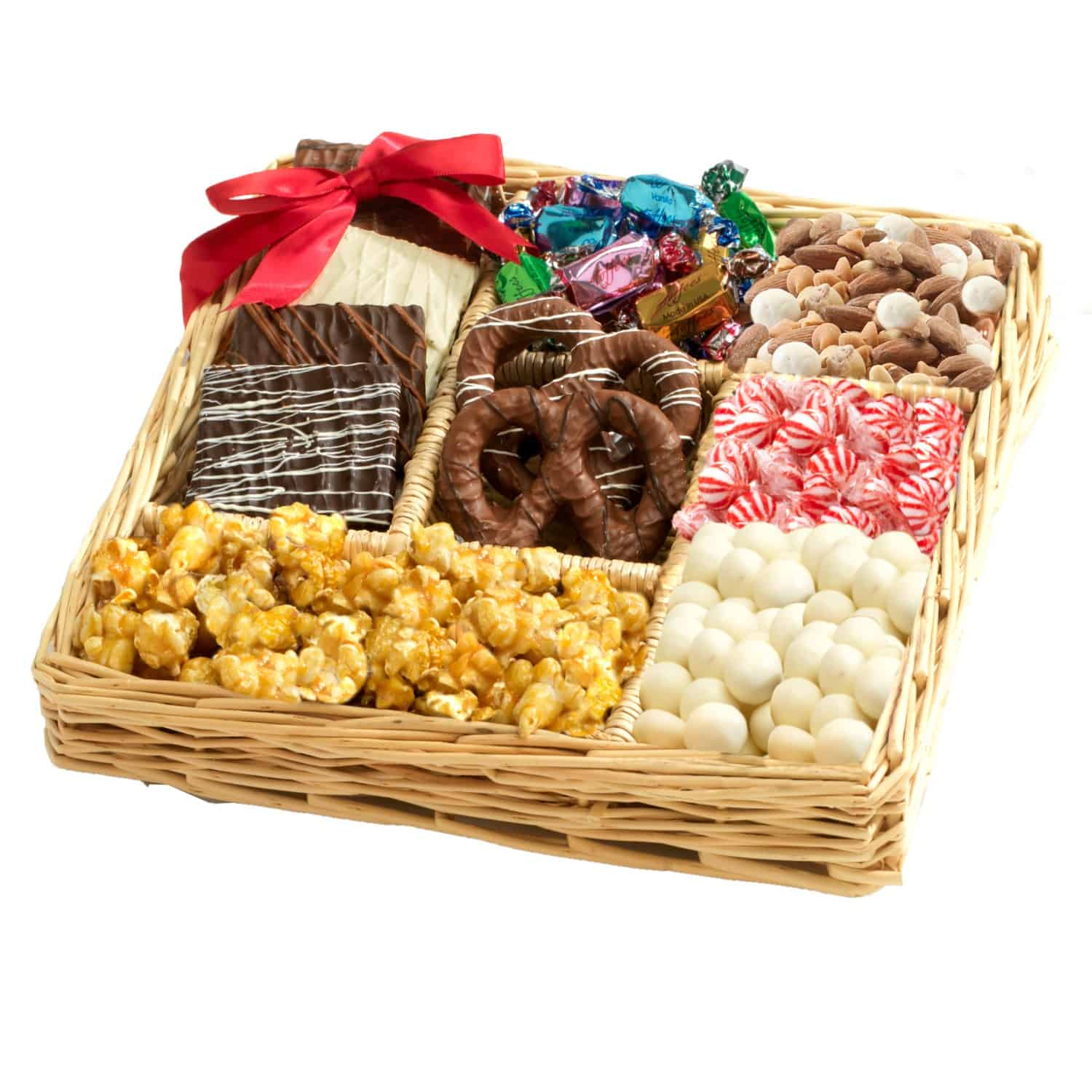 Chocolate Nut Lovers Gift Tray By Broadwaybasketeers Com