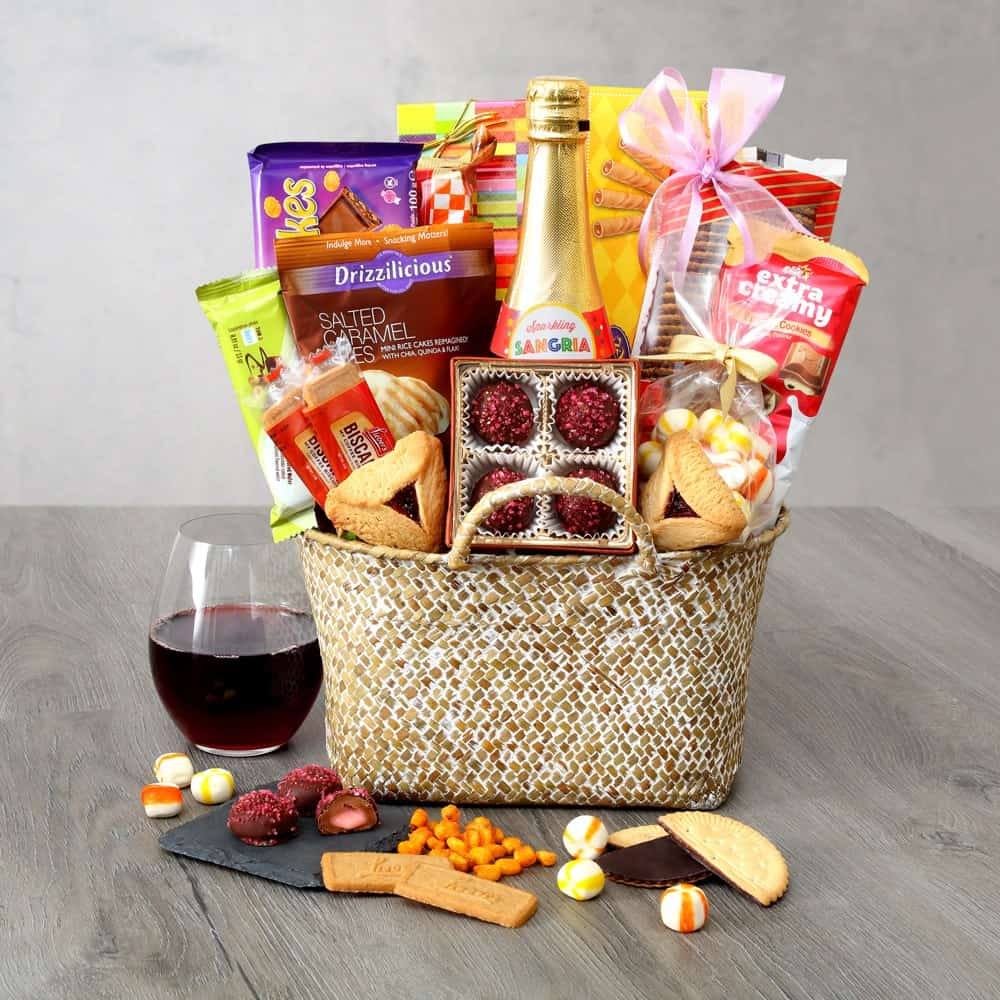 Sweet Serenity Purim Basket