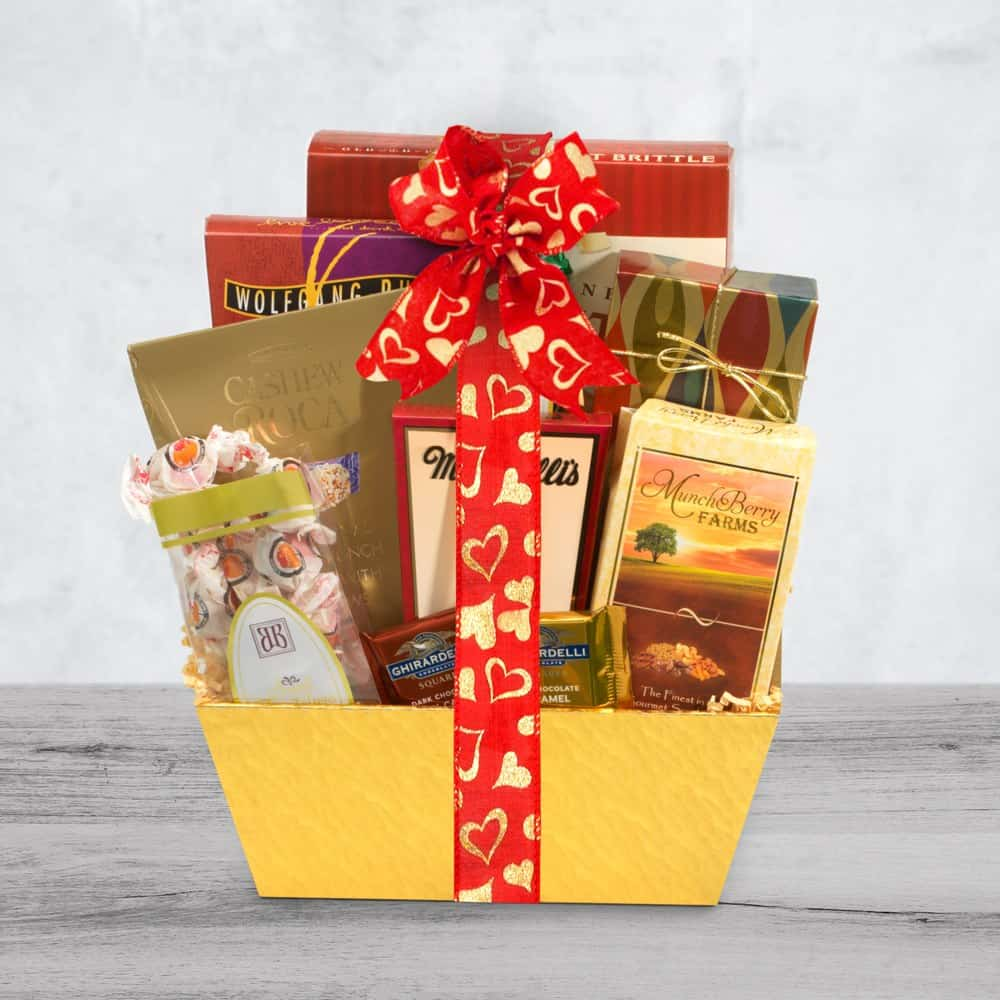 Valentines Day Appreciation Gift Basket