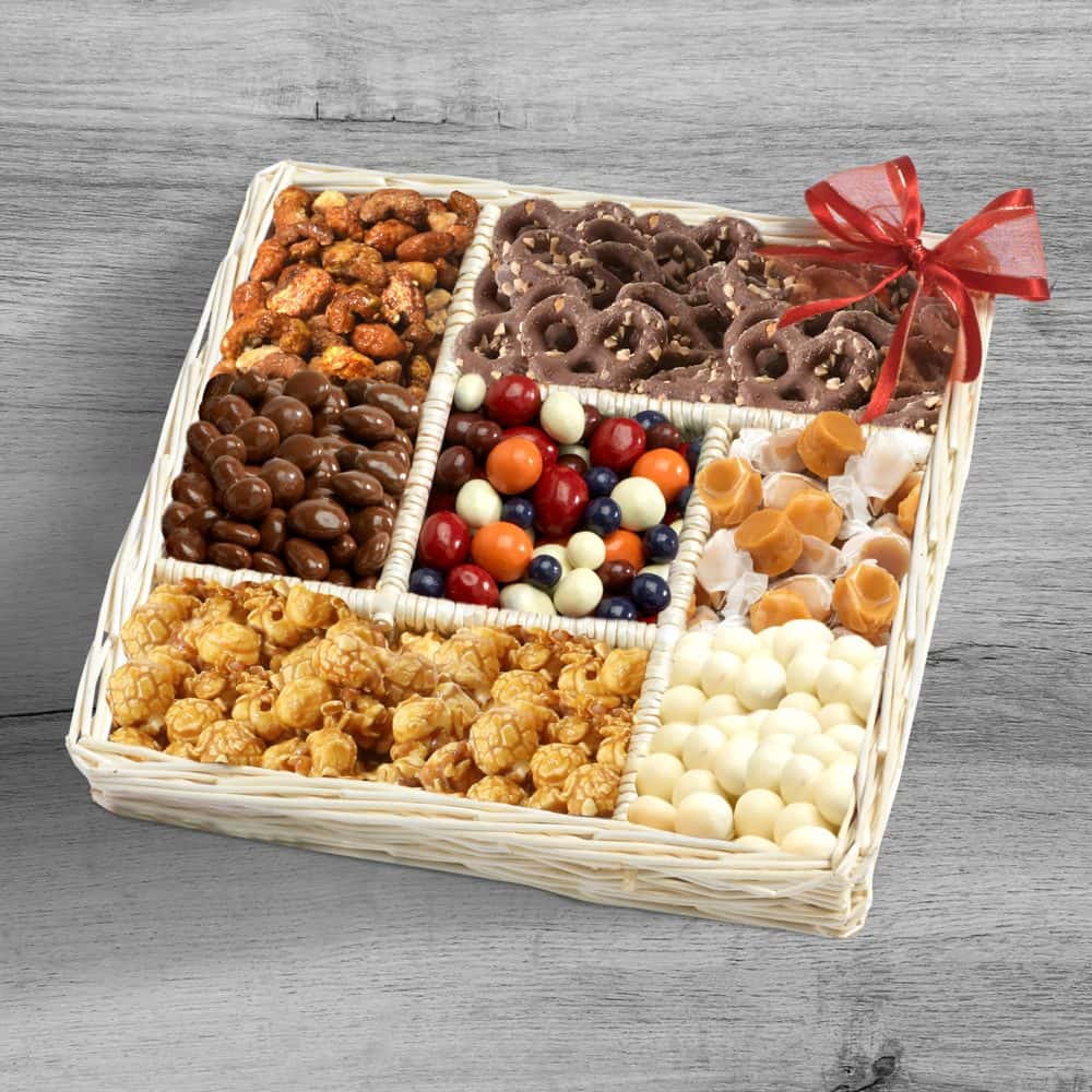 Sweet Surprises Snack Gift Tray