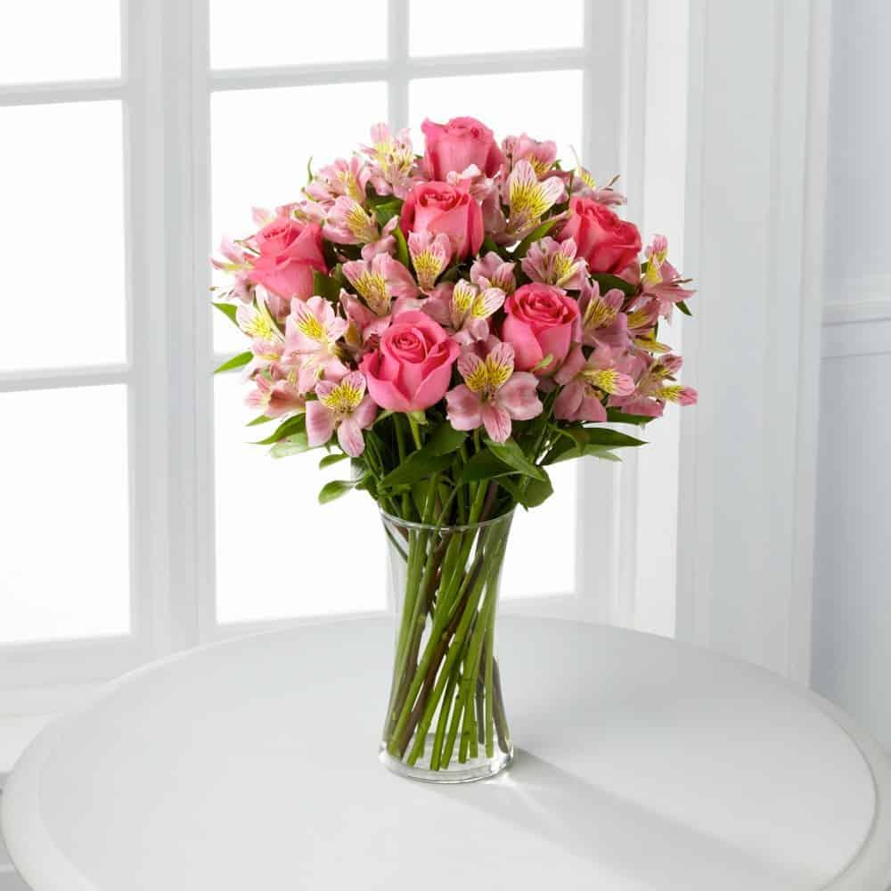 Dreamland Pink Bouquet Vase