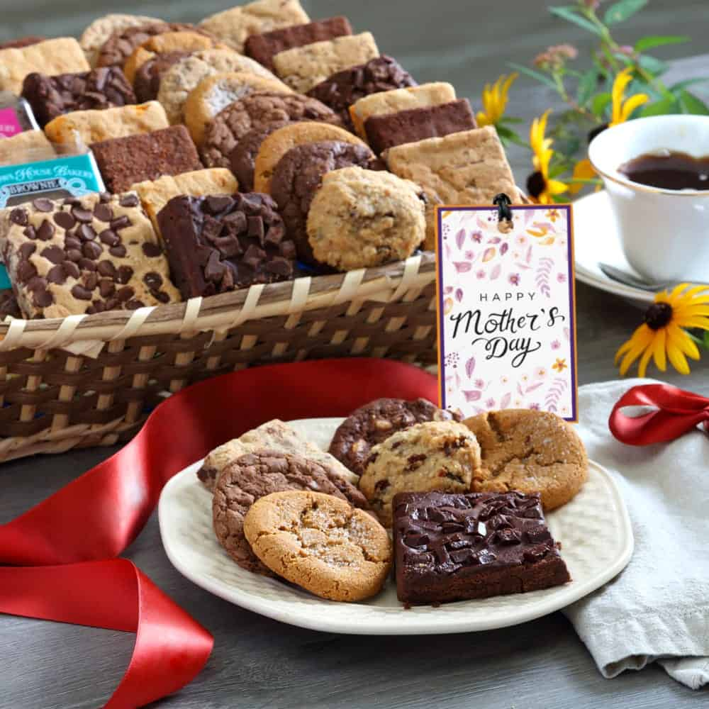 Mothers Day Deluxe Bakery Gift Basket