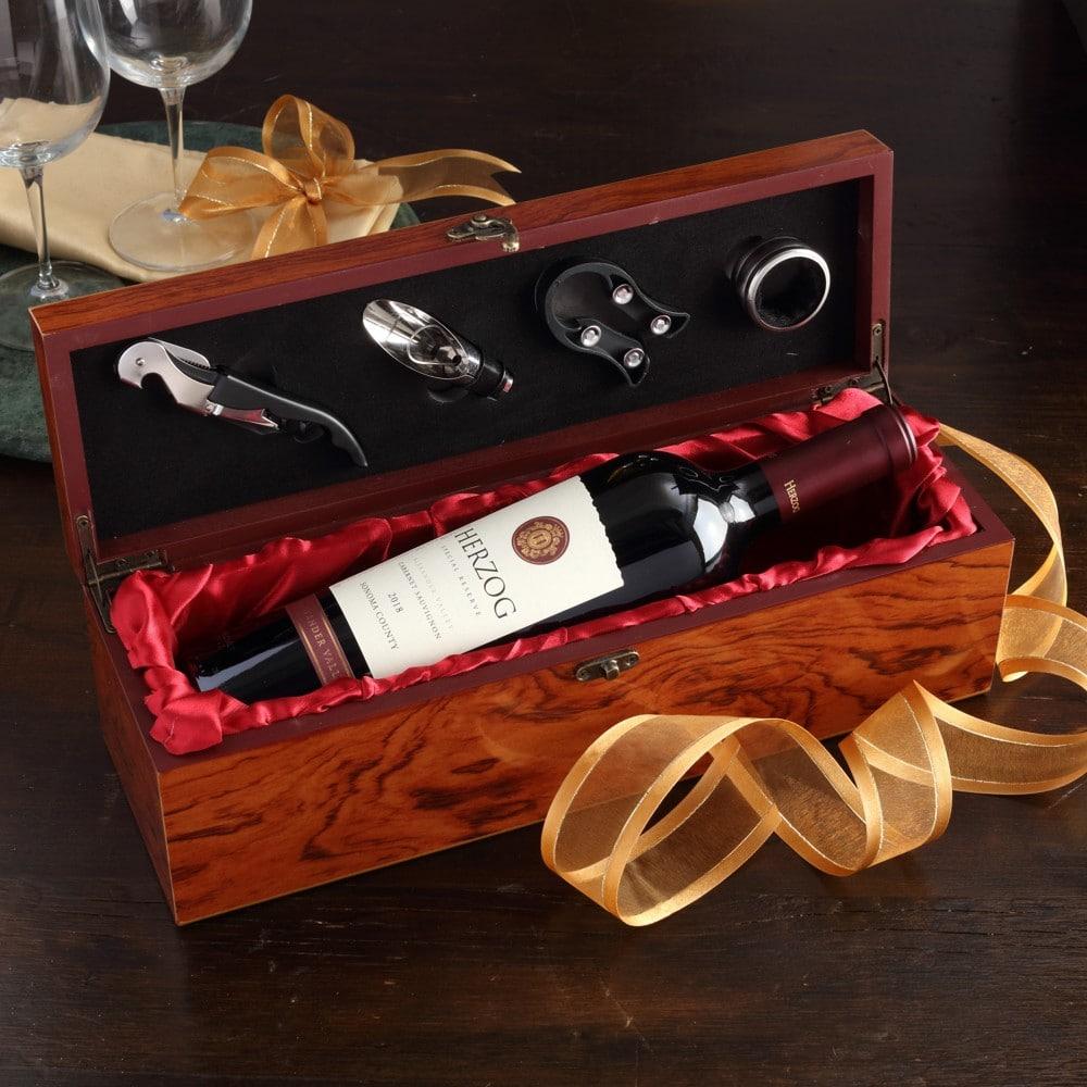 Premium Mahogany Wine Box
