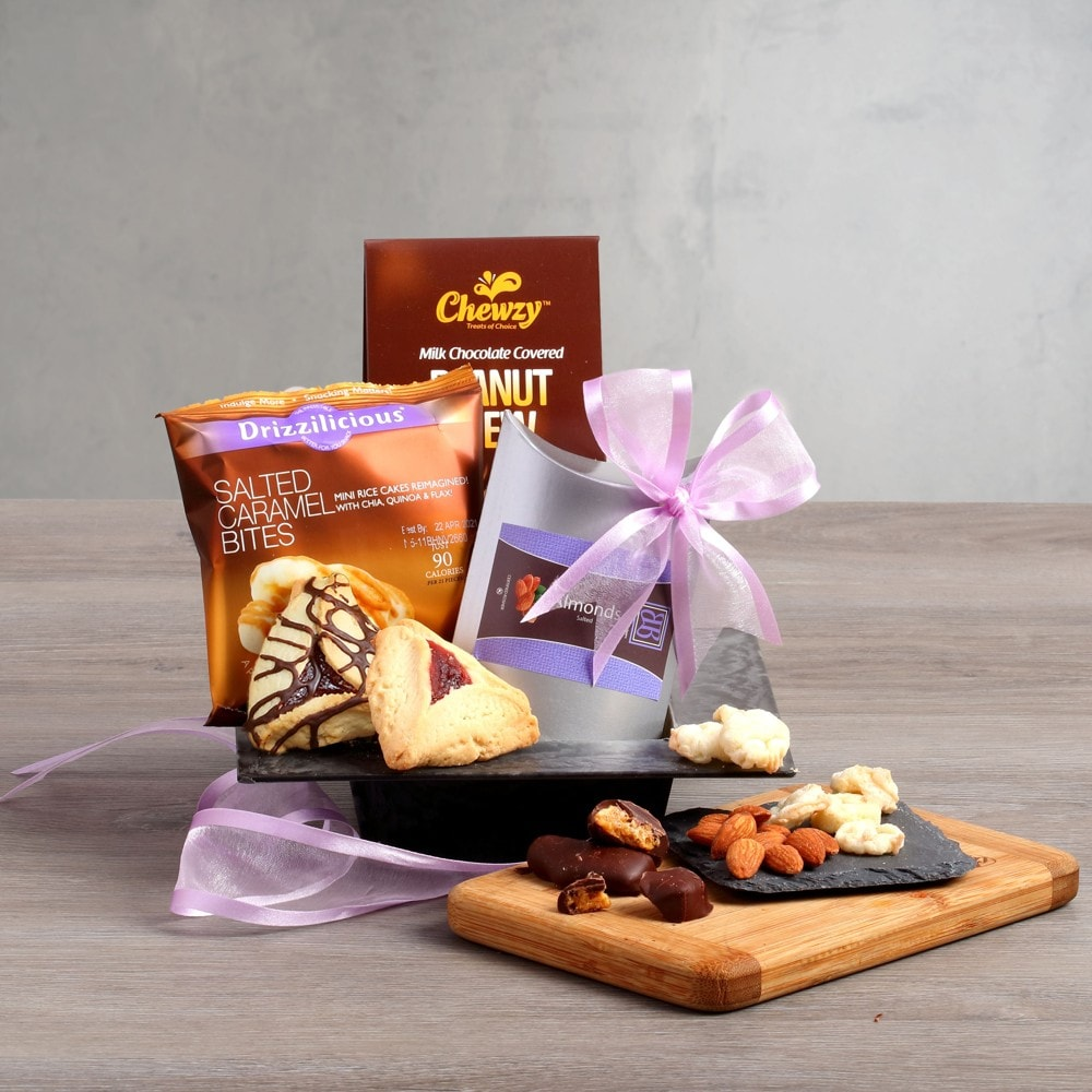 Purim Brilliance Gift Basket