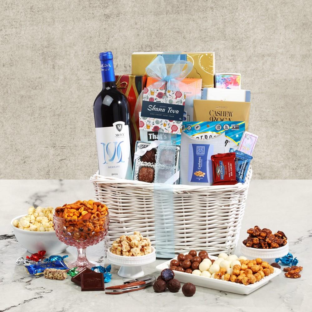 Rosh Hashanah Wine Basket