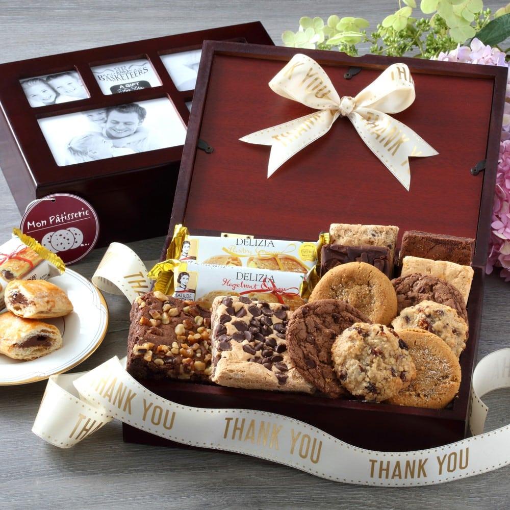 Thank You Photo Bakery Box