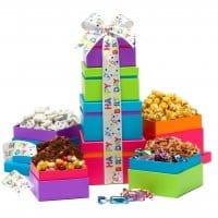 Happy Birthday Wishes - Gift Tower