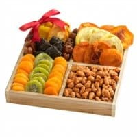 Premium Dried Fruit Assortment - Gift Tray