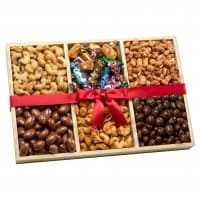 Deluxe Nuts & Sweets Gift Tray