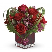 Sweet Thoughts Bouquet with Vase