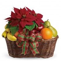 Christmas Fruit Basket | Holiday Fruit Baskets