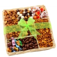 Gift Tray with Nuts, Caramels & Sweets