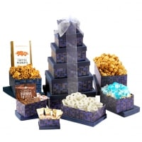 Soaring Sapphire Gift Tower
