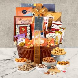 Grand Sympathy Gourmet Gift Basket