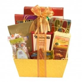 Thank you basket gifts to say thank you broadway basketeers gourmet appreciation gift basket negle Choice Image