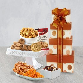 Gourmet Celebration Gift Tower