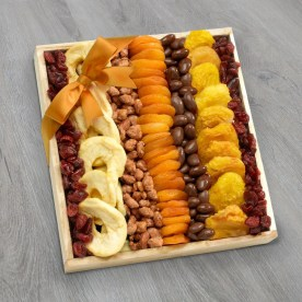 Dried Fruit and Nuts Purim Tray