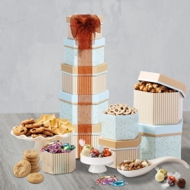 Simply Sensational Holiday Gourmet Gift Tower