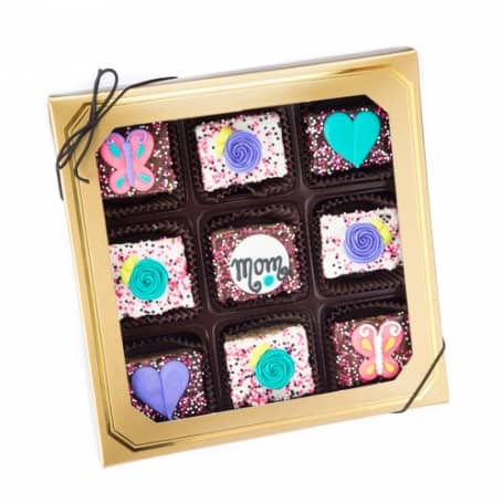 Mothers Day Chocolate Rice Crizpy Treats