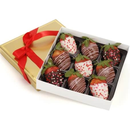 Mothers Day Chocolate Dipped Strawberries