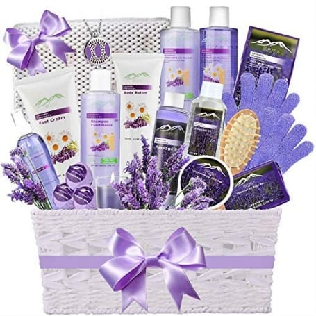 Ultimate Lavender Spa Basket