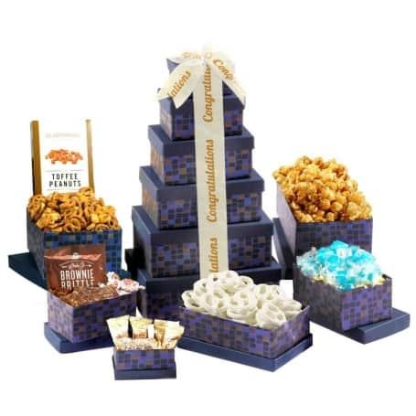 Congratulations Sapphire Gift Tower