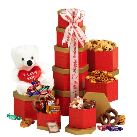 I Love You Gift Tower