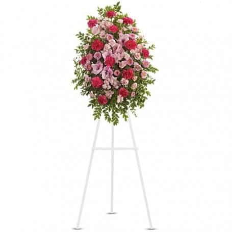Pink Tribute Flower Collection