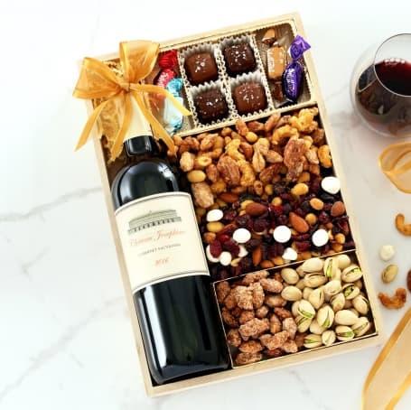 Hopeful Holidays Wine Gift Tray