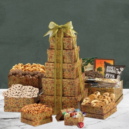 The Ultimate Holiday Gift Tower