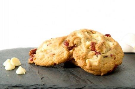 Cherry & White Chocolate Cookies