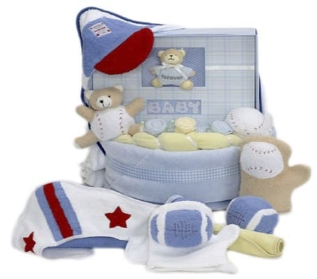 Baby Boy Book Towel and Blanket Gift Set