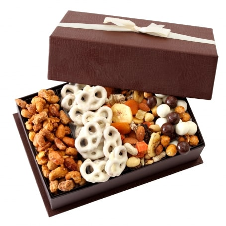 Nuts and Chocolate Gift Basket | Nut Gifts for Christmas