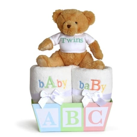 Baby A & B Gift for Twins
