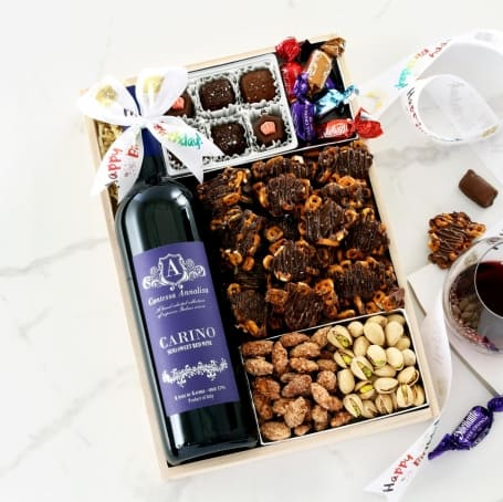 Birthday Wine Retreat Gift Tray